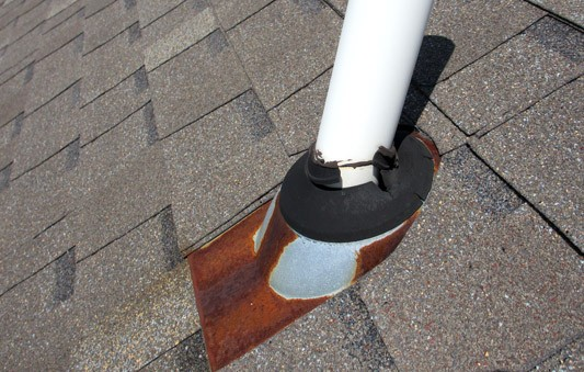 Vent Roof Boot Common Roof Leak Repairs Vent