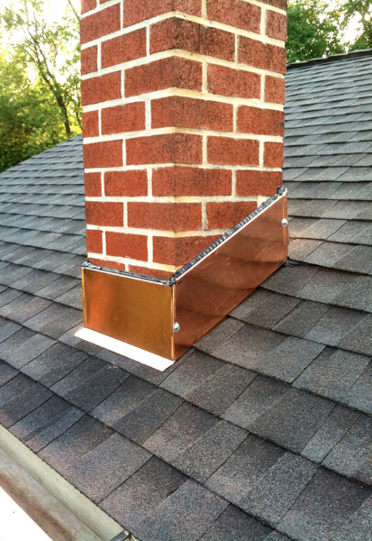 New Roof & Copper Chimney Flashing, Wilmington, Delaware 19810