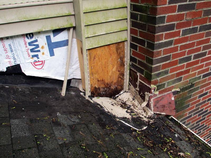 Shingle Roofing, Chimney Leak & Siding Repairs Project, Newark, DE 19713