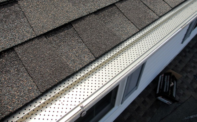 Leaf Relief gutter protection for rain gutters