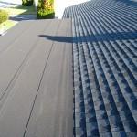 Flat roofing GAF liberty