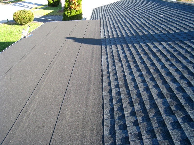 Flat Roofing - GAF Liberty charcoal