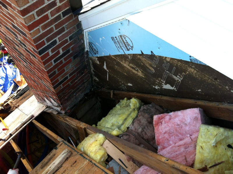 Residential Roofing Chimney Leak Repair