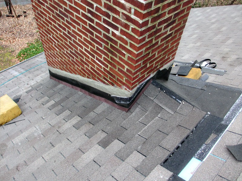 Roof Maintenance: Chimney Flashing Inspection & Repair