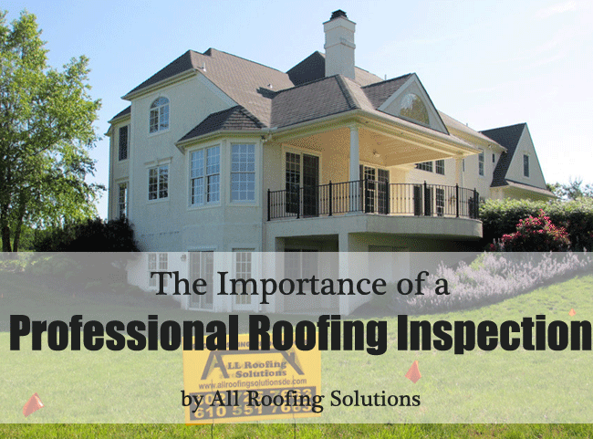 The Importance of a Professional Roofing Inspection