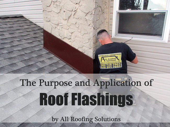 The Purpose and Application of Roof Flashings