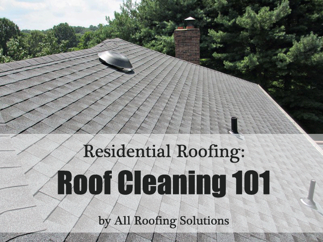 Residential Roofing: Roof Cleaning 101