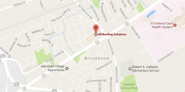 All Roofing Solutions, Newark DE Office