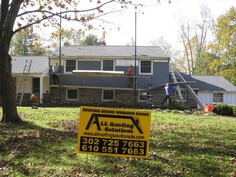 GAF HD Lifetime Timberline Shingle Roofing, Vinyl CertainTeed Siding, and Aluminum Seamless Gutters Replacement in West Chester PA 19382