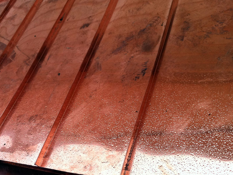 All Roofing Solutions Installs Standing Seam Metal Roofing