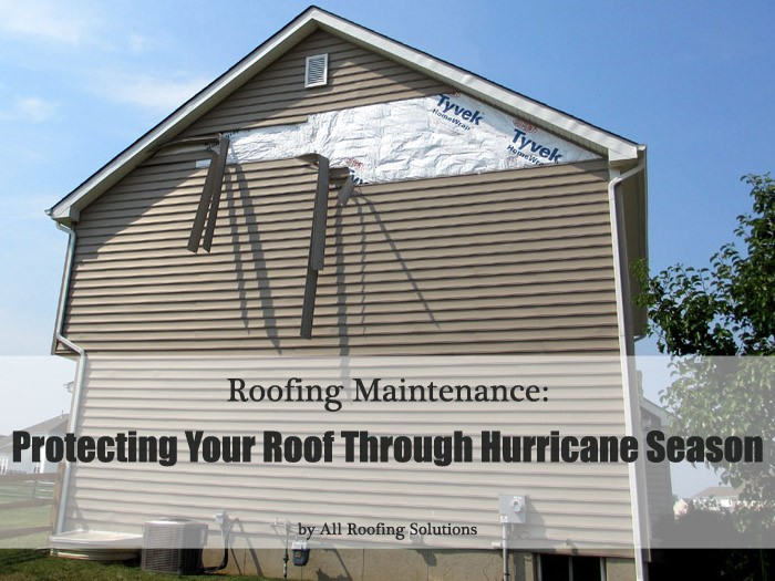 Roofing Maintenance: Protecting Your Roof Through Hurricane Season